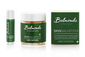 Balmonds Skin Salvation Balm and Intensive Lip Balm