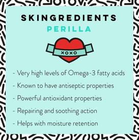 Perilla Skin Care Benefits