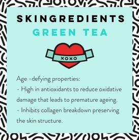 Green Tea Skin Care Benefits