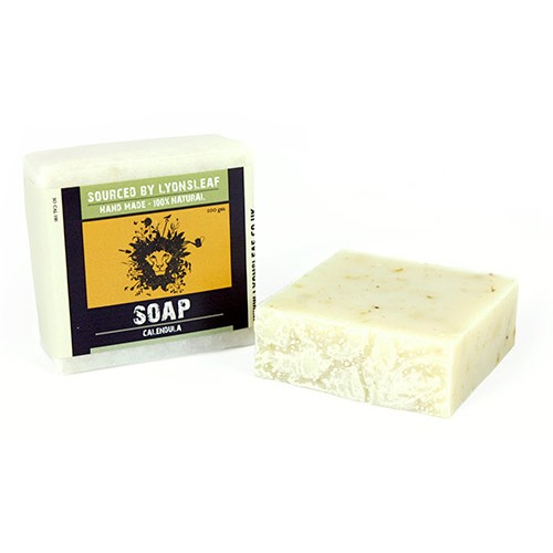 Lyonsleaf Handmade 100% Natural Calendula Bar Soap