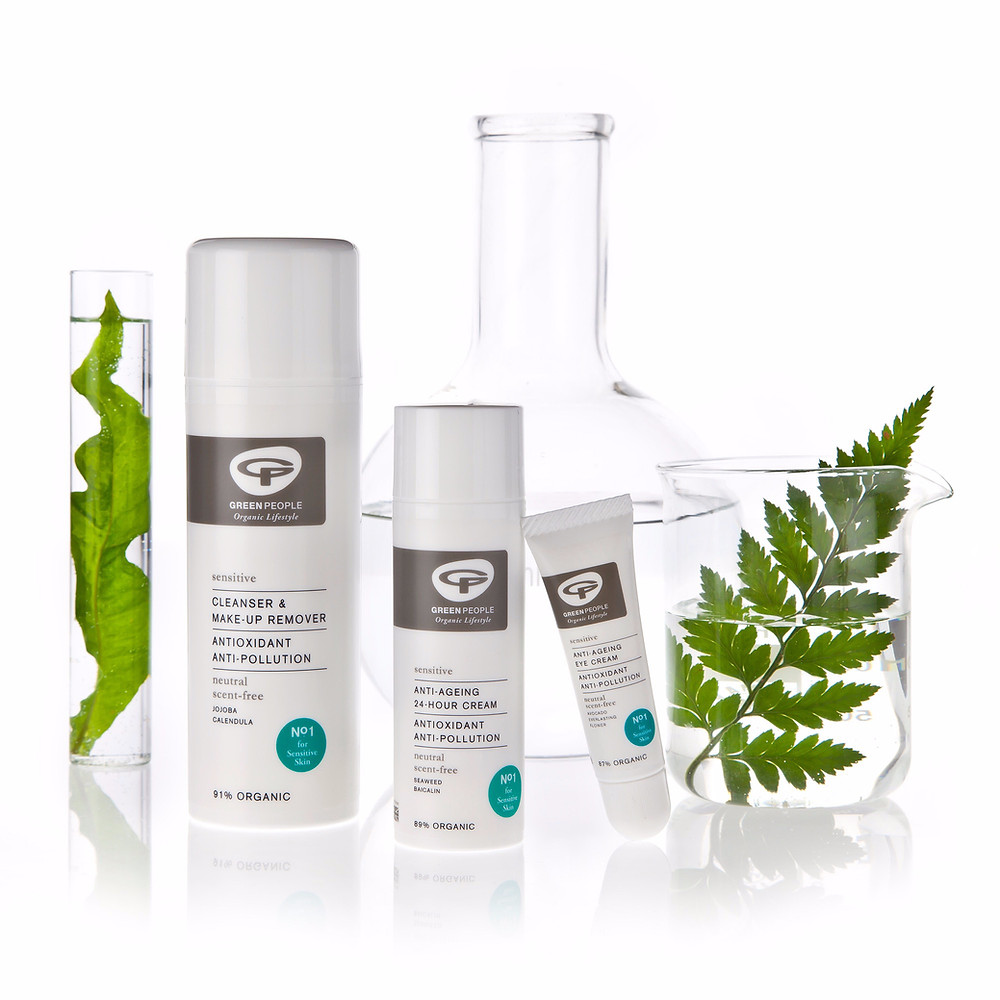 Green People's range of Unscented Organic Skincare Products