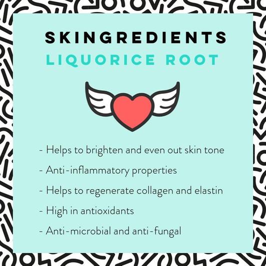 Liquorice Root Extract Skincare Benefits