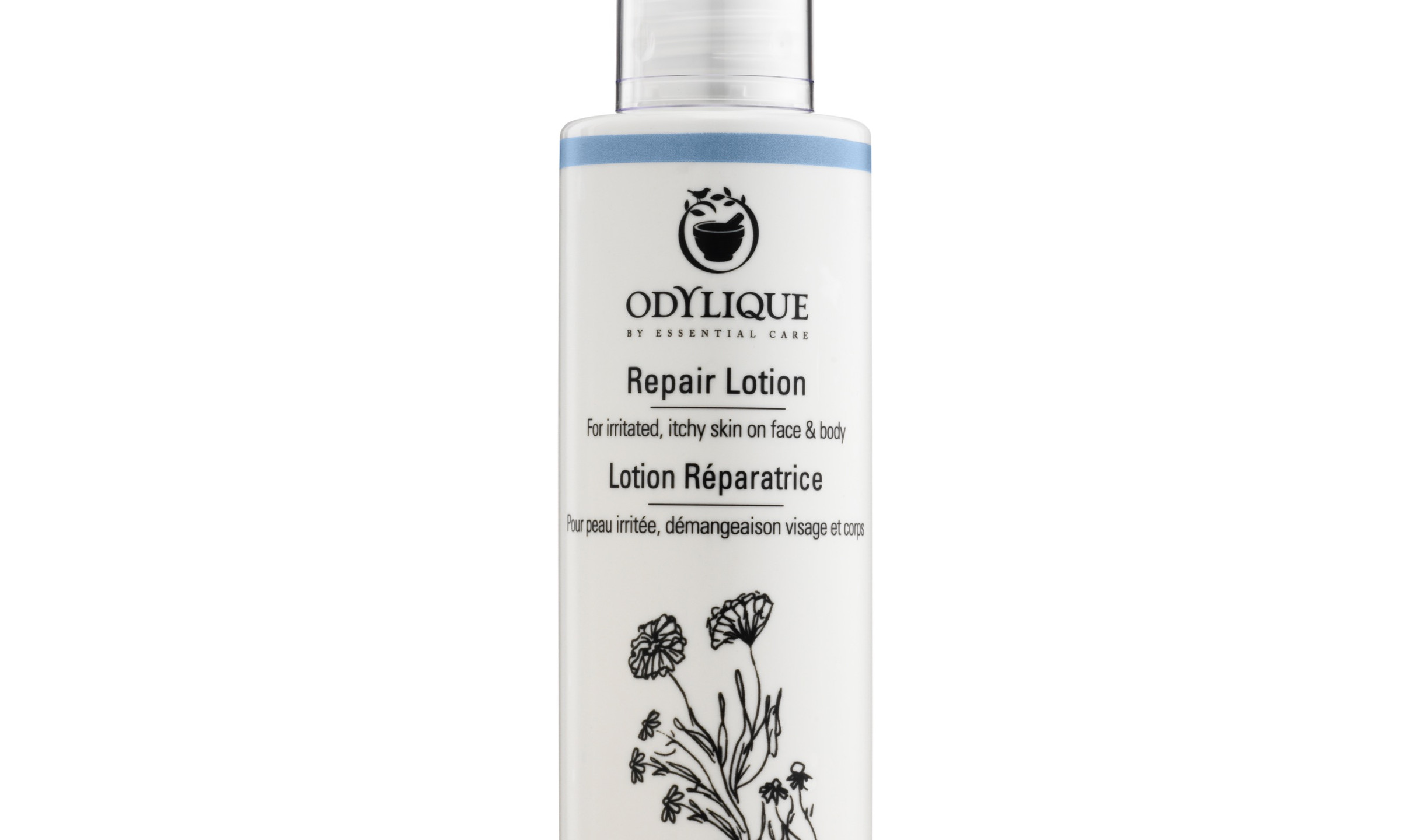 Odylique Repair Lotion for irritated, itchy skin on the face and body containing Calendula