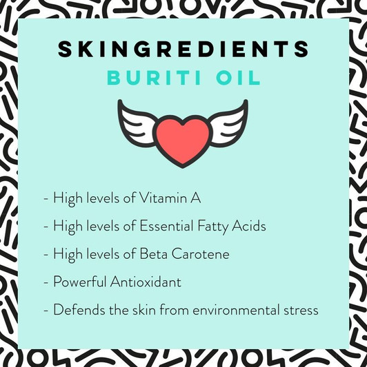 Buriti Oil Skin Care Benefits