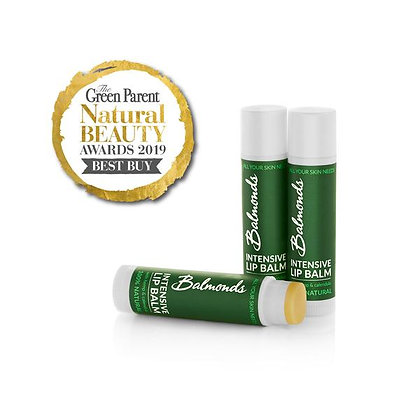 Balmonds Cruelty Free and Fragrance Free Intensive Lip Balm
