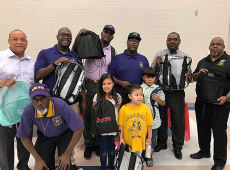 hill elementary backpack drive aug 2019