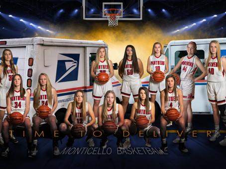 MHS Girls Varsity Basketball poster