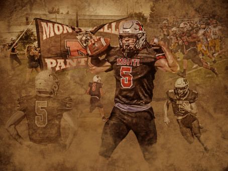 Football Montage by Rucker Photography