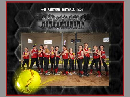 9-U Panther Softball 2021