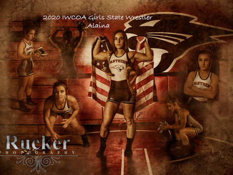 Iowa High School Girls State Wrestling 2020