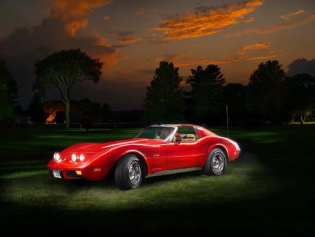 Light Painting '74 Corvette