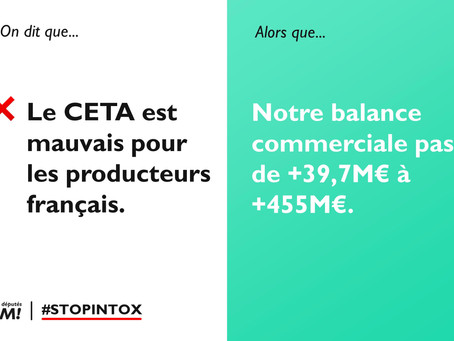 CETA : stop aux fake news