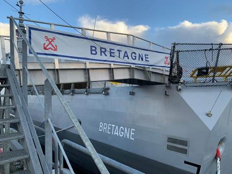 Parrainage de la FREMM Bretagne
