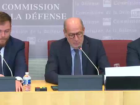 JC Larsonneur, rapporteur pour avis du projet de loi d'approbation de l'accord CAMO