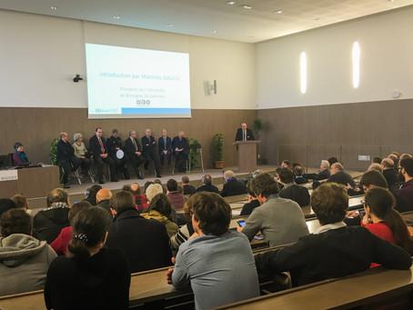 Inauguration de l'école universitaire ISblue