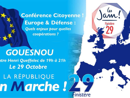 """Conférence """"Europe & Défense"""""""