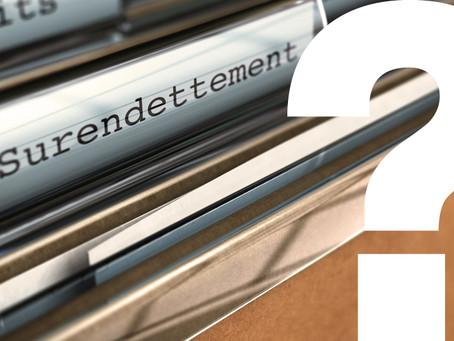 Question écrite concernant la recevabilité des dossiers de surendettement des entrepreneurs