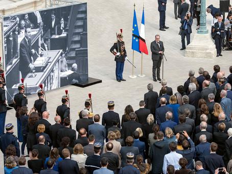 Hommage républicain à Jacques Chirac à l'Assemblée nationale
