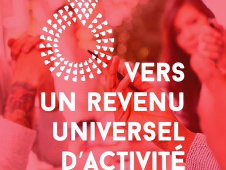 Revenu universel d'activité : lancement de la consultation citoyenne