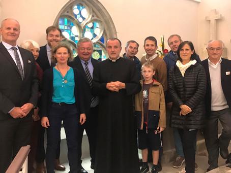 Bohars - Inauguration de la chapelle de Loguillo