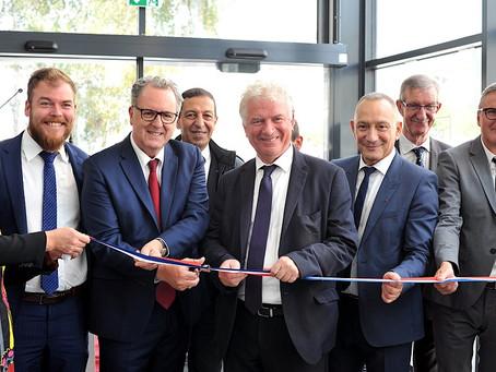Brest, inauguration de la Maison du Don