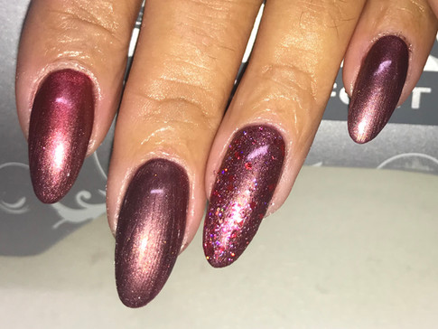 Glitter, subtle Ombre and a Shimmer