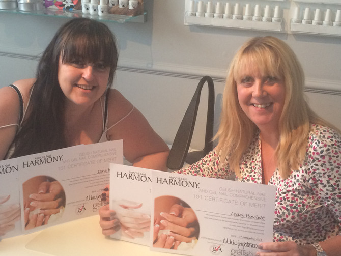 Day 3 Gelish with Michelle Livingstone