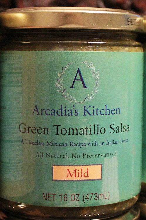 Green Tomatillo Salsa Verde