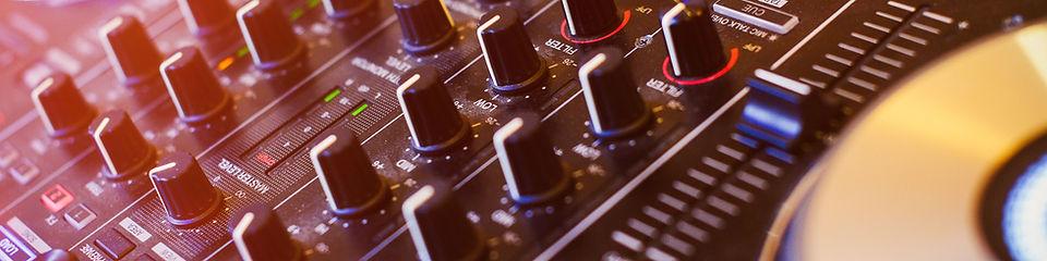 audio video projeção estruturas dj