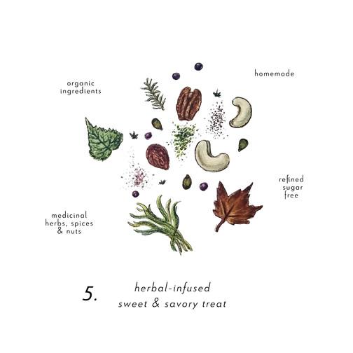 Herbal Infused Sweet Treat