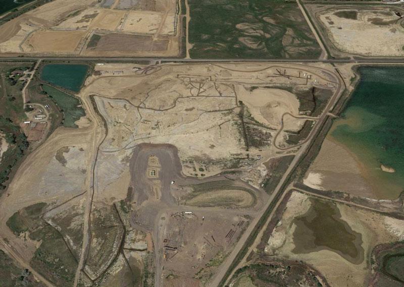 Duckworth Mine Slope Liner