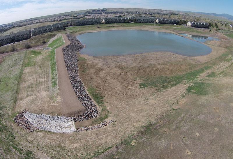 Hodgson-Harris Reservoir Dam Rehabilitation