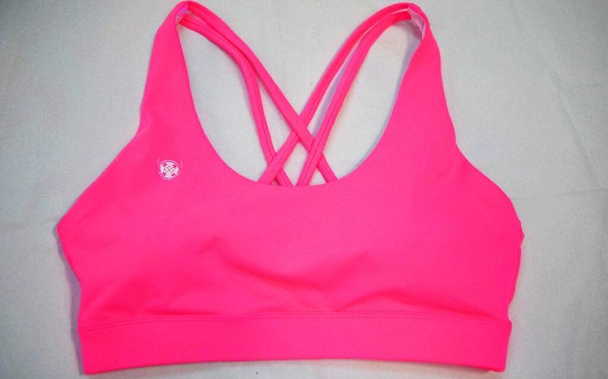 Sports Bra - Atomic Pink