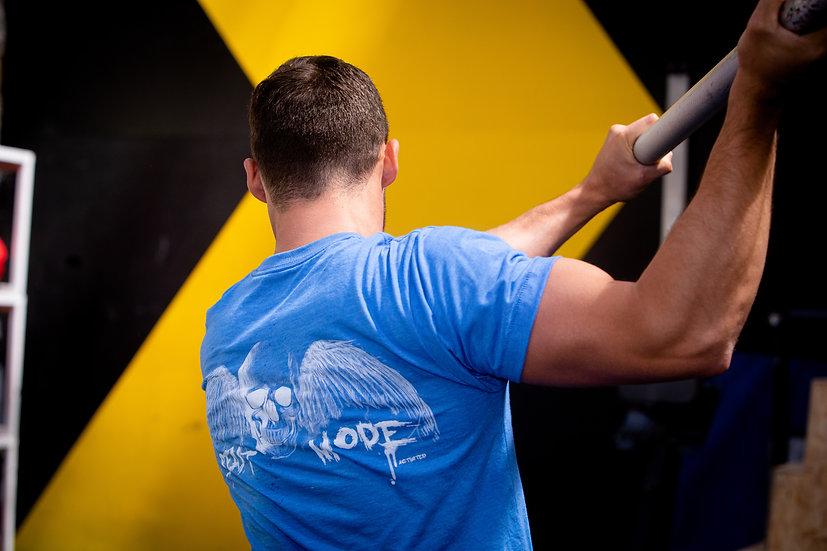 Men's T-Shirt 'The Cal' MK I (Sea Blue)