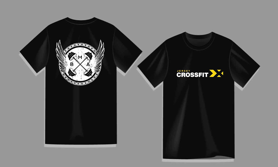Jersey CrossFit Men's T-Shirt