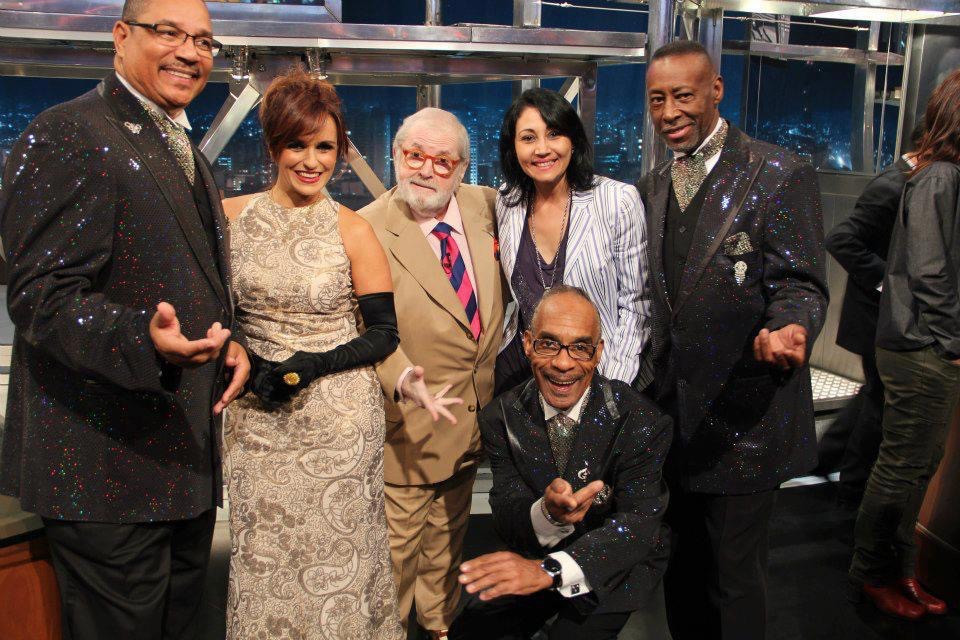 With The Platters at Jô Soares TVShow