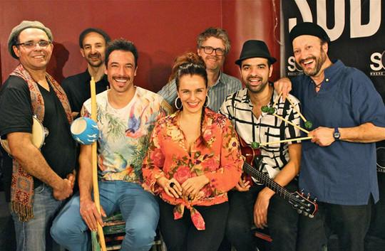 With Arthur Lipner, Wesley Amorim, Itaiguara Brandão, Carlos Dias, Graciliano Zambonin, and Nanny Assis
