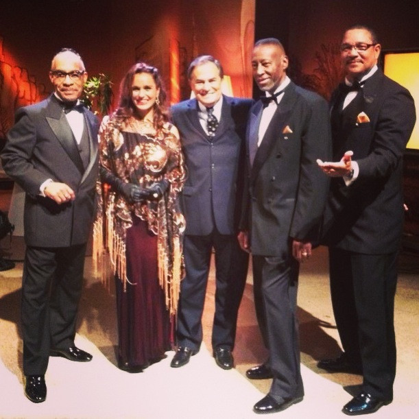 with The Platters at Ronnie Von TVShow