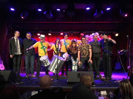 with BMS and Samba New York at B.B.King