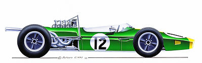 1966/67: Brabham BT19/24 Repco