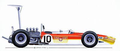 1967-70: Lotus 49 Cosworth