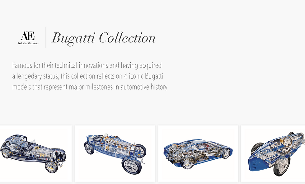 AE | Bugatti Collection