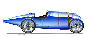 Bugatti, History and Renaissance - Part 6: The first 8 cilinders