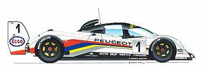 Peugeot at Le Mans: Part 1