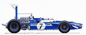1969: Matra MS80 - Cosworth