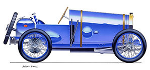 Bugatti, History and Renaissance - Part 4: The Type 13