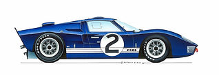 Ford GT40 - The first victory