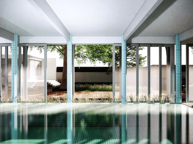 pavillon de nage