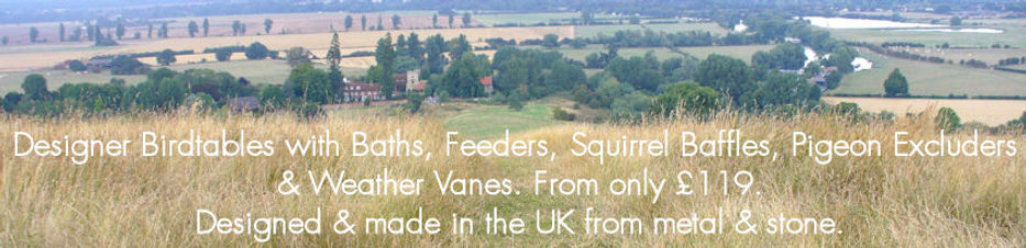 Webpage header - view of Thames Valley from Wittenham Clumps