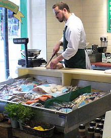 Fishmongers in Wallingford butchers